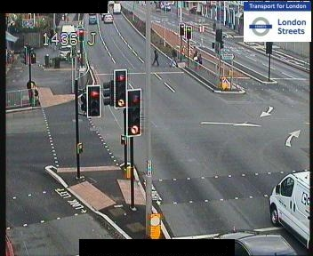 View from traffic camera